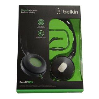 Belkin On-Ear Kopfhörer PureAV 005, schwarz