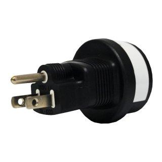 Netzadapter, USA Stecker auf Schutzkontakt Buchse