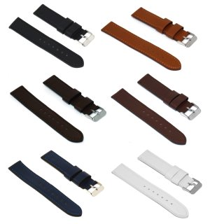 Pedea Lederarmband für Uhren und Smartwatches, Armband für Huawei, Stegbreite 22mm