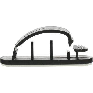 10er Pack InLine® Kabelmanager, mit Klebesockel, 5,4cm, schwarz