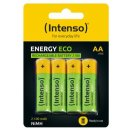 Intenso Batteries Rechargeable Eco AA HR6 2100mAh 4er...